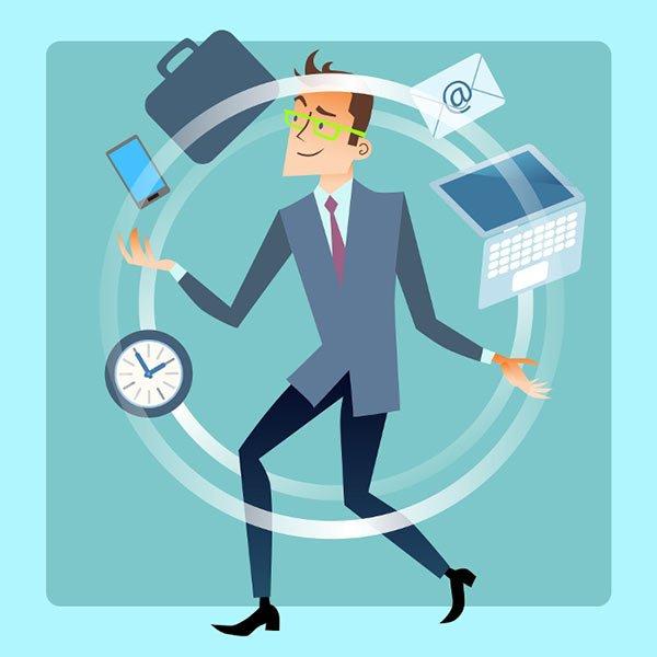 مدیریت زمان برای افراد