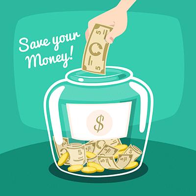 چگونه با یک پس انداز ساده ، ثروتمند شویم ؟
